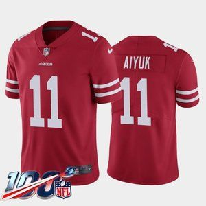 San Francisco 49ers Brandon Aiyuk Red Jersey